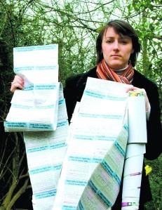 Julia Goldsworthy's Water Bills petition